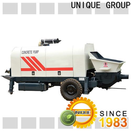 UNIQUE professional concrete pump machine manufacturer for water conservancy