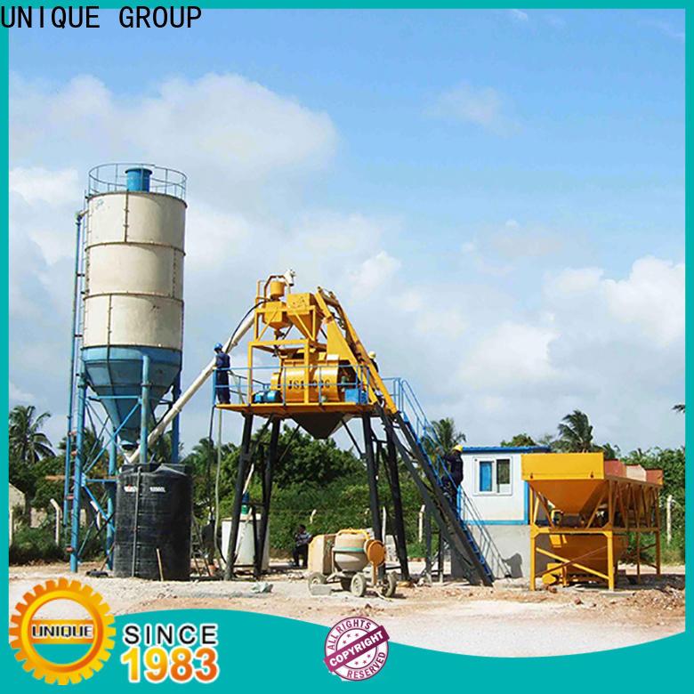 UNIQUE stable concrete batching plant at discount for air port