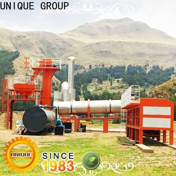 batch asphalt batch mix plant supplier for parking lot