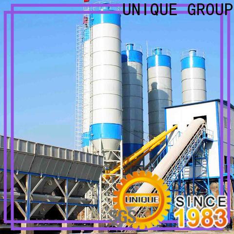 economical concrete plant equipment promotion for sea port