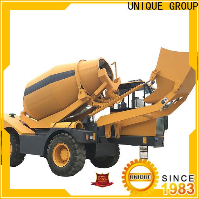 UNIQUE concrete batch truck metering