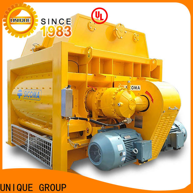 stronger concrete mixing plant with feeding system for hard-dry concrete