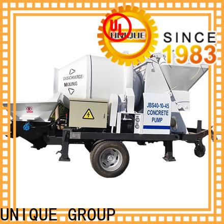 UNIQUE stable concrete pumping equipment supplier for railway tunnels
