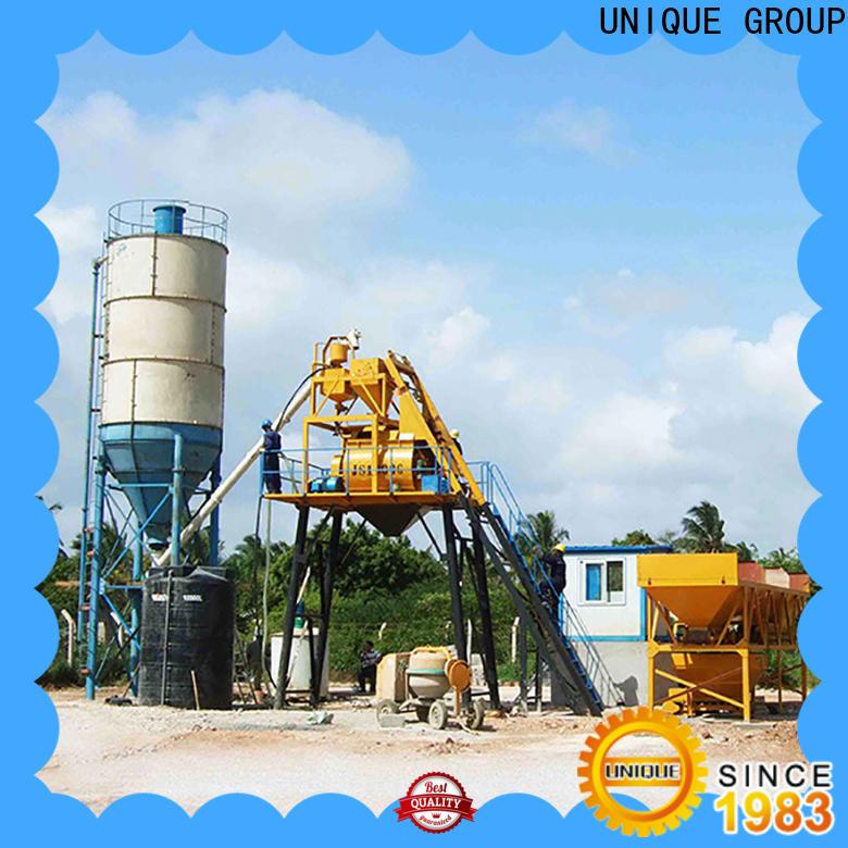 UNIQUE concrete batching plant price supplier for sea port