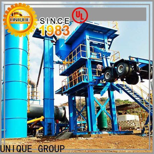UNIQUE asphalt batching plant factory price for city road