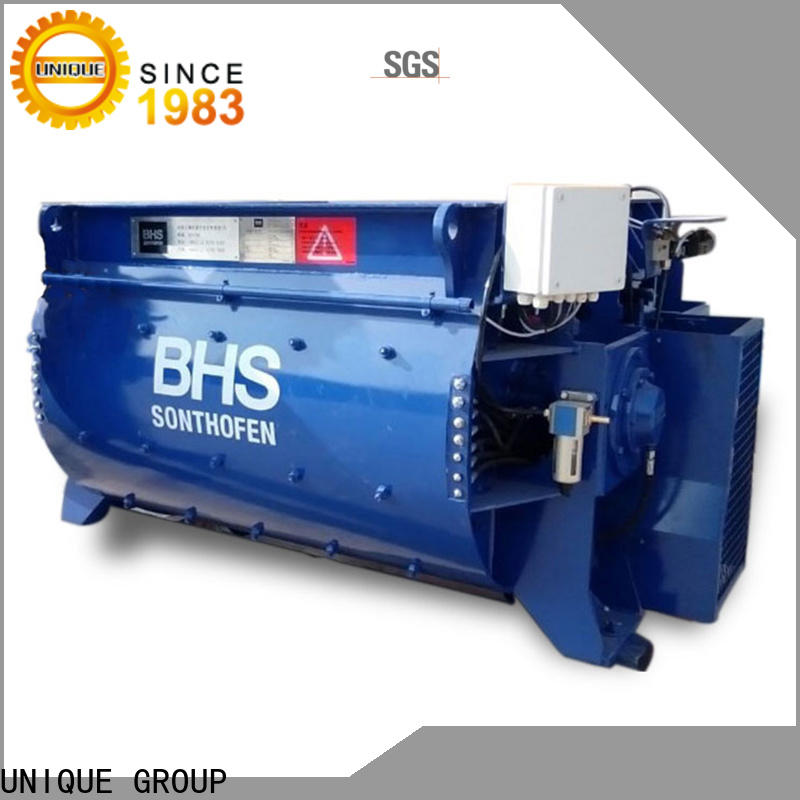 long lasting cement batching plant with discharging system for concrete products