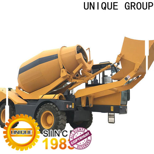 four wheels-driving concrete truck automatic feeding for construction site