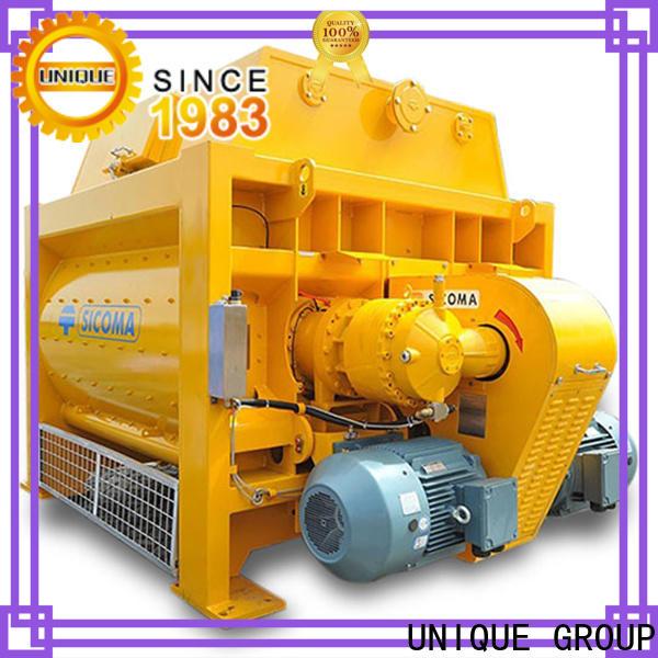 UNIQUE concrete mixer price supplier