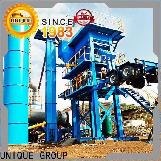 UNIQUE asphalt batch mix plant manufacturer for city road