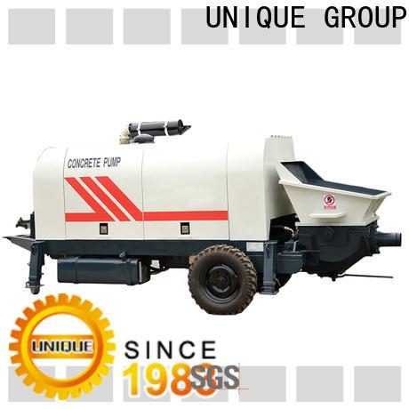 UNIQUE concrete mixer pump manufacturer for roads