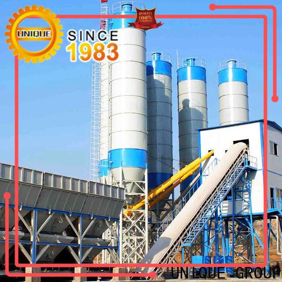 UNIQUE anti-interference concrete batching mixer manufacturer for air port