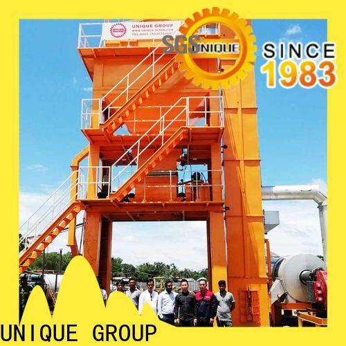 UNIQUE drum asphalt mixer manufacturer for city road