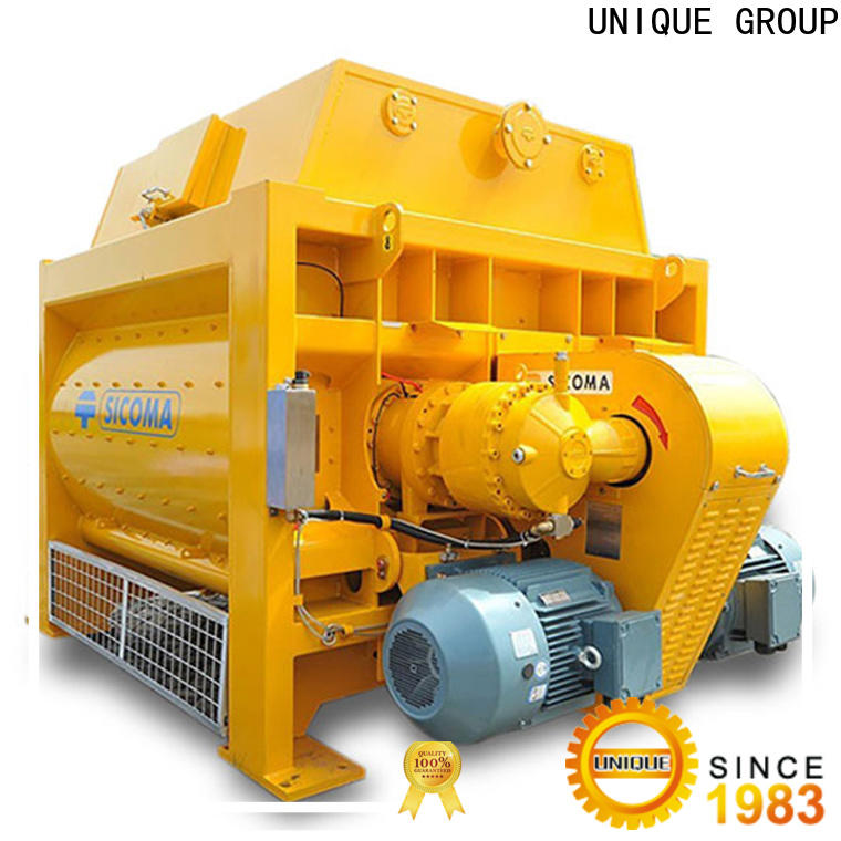 UNIQUE stronger cement mixer machine with water supply system for project