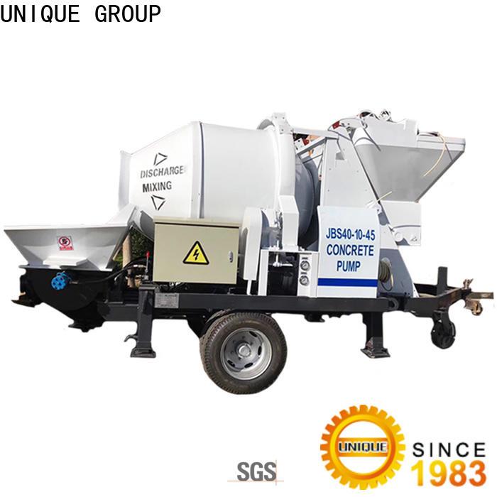 stable concrete trailer pump online for roads