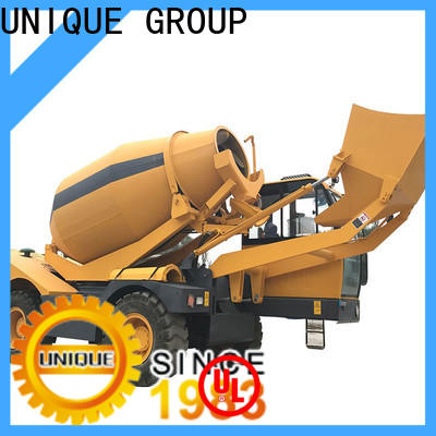 UNIQUE self loader concrete mixer metering for project