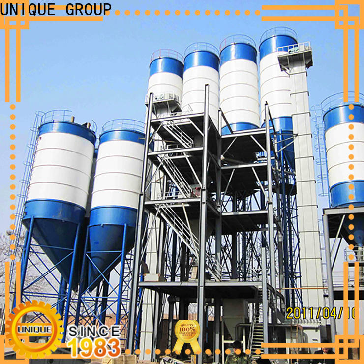 UNIQUE dry mortar plant environmental protection for mortar