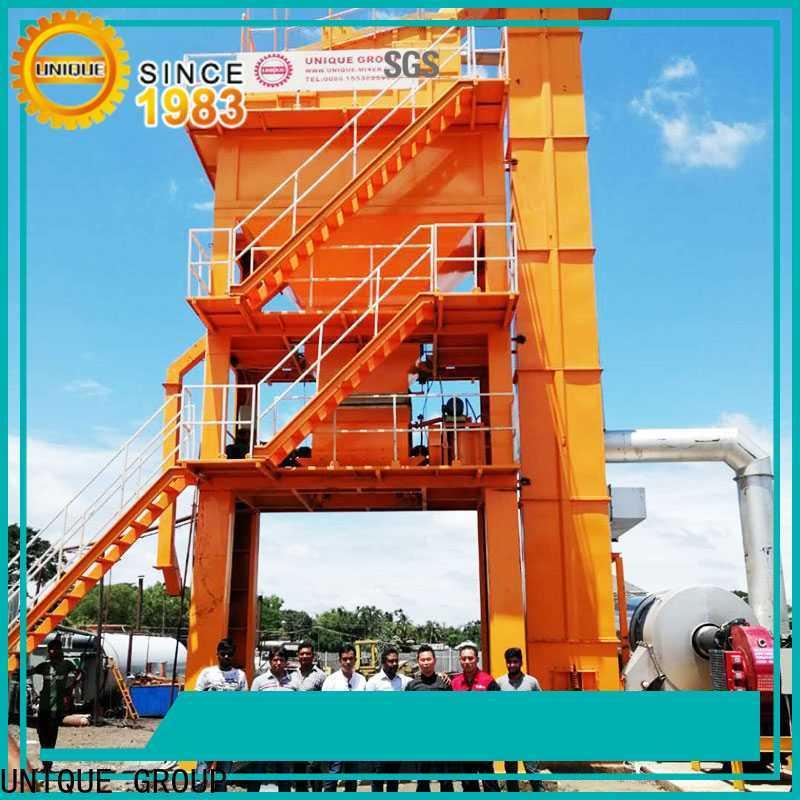 professional mobile asphalt plant factory price for city road