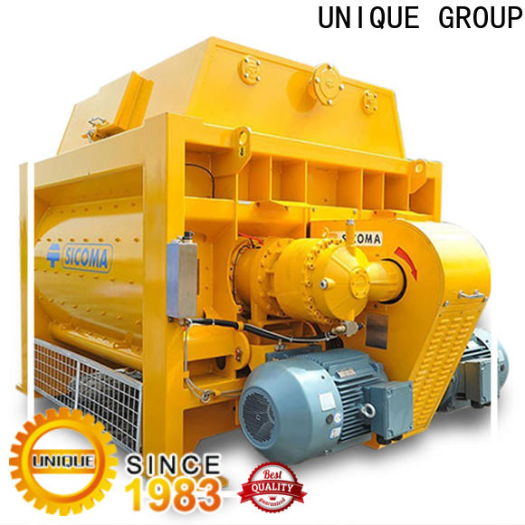 UNIQUE long lasting concrete mixing equipment with water supply system