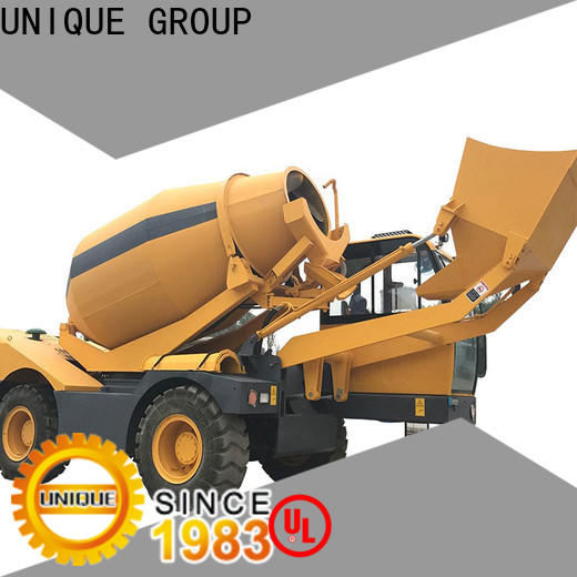 steering concrete mixer truck automatic feeding for project