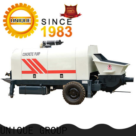 professional concrete mixer pump manufacturer for roads