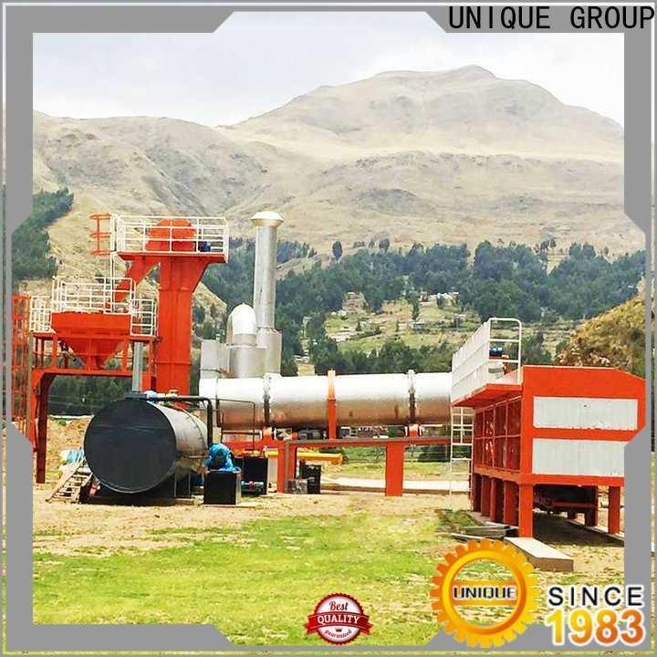 UNIQUE intermittent asphalt batch mix plant manufacturer for highway