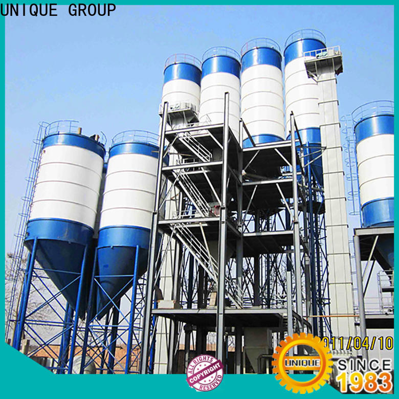 compact structure dry mix mortar plant simple process for plant