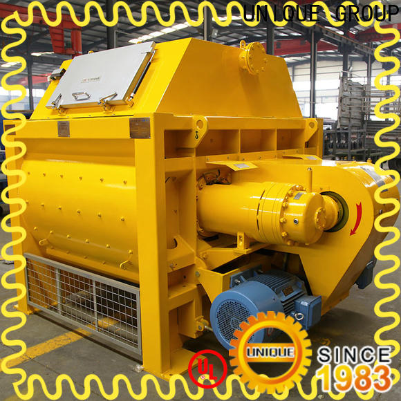 UNIQUE cement mixer machine with feeding system for project