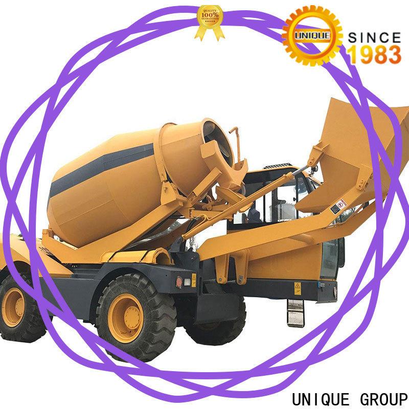 UNIQUE automatic concrete truck metering