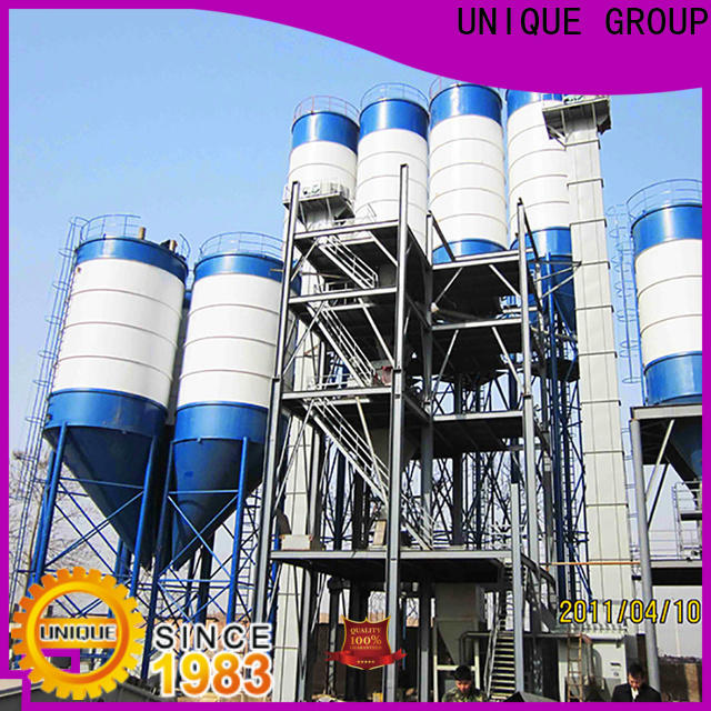 UNIQUE high degree of automation dry mix concrete plant environmental protection for plant