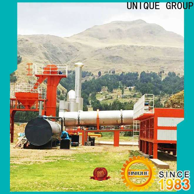 intermittent harga asphalt mixing plant directly sale for parking lot
