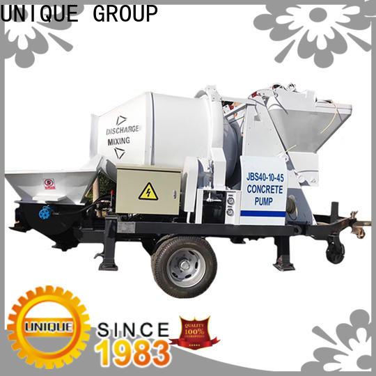 UNIQUE mature concrete pumping equipment directly sale for roads