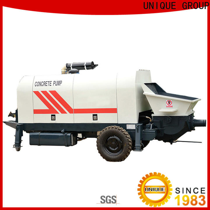 stable concrete pumping machine supplier for water conservancy