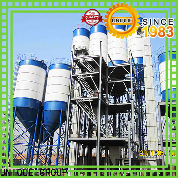 UNIQUE dry mix concrete plant factory sale for mortar