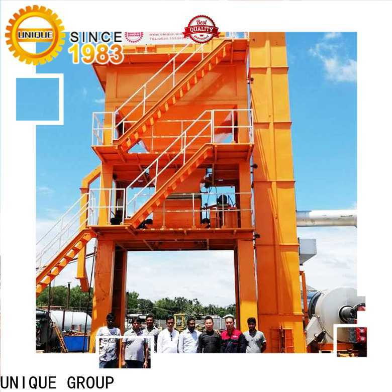 continuous mobile asphalt plant factory price for highway