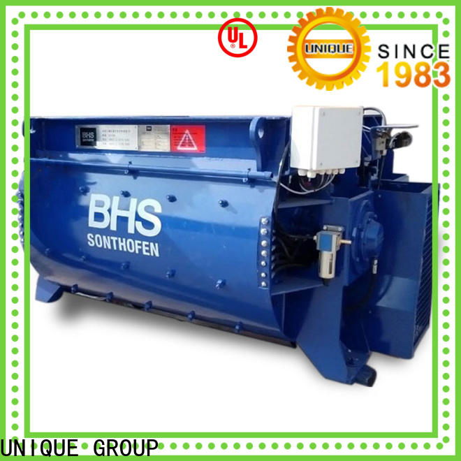 UNIQUE cement mixer equipment supplier for hard-dry concrete