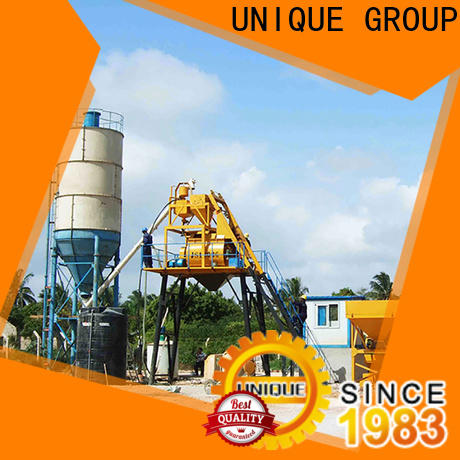 UNIQUE economical concrete batching mixer promotion for road
