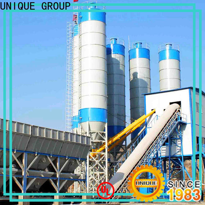 UNIQUE anti-interference concrete batching plant at discount for air port