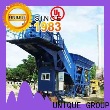 UNIQUE commercial concrete batching plant price manufacturer for sea port