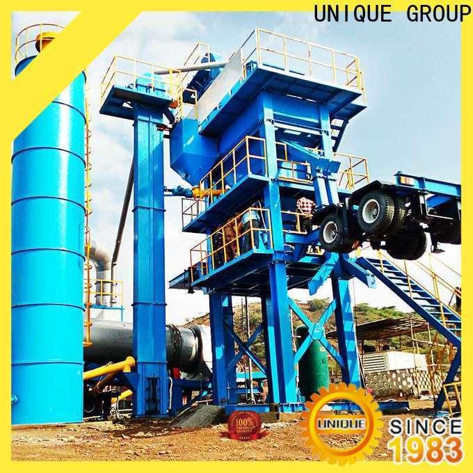 UNIQUE asphalt plant supplier for highway