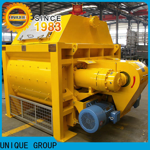 UNIQUE mobile concrete mixer supplier for concrete products
