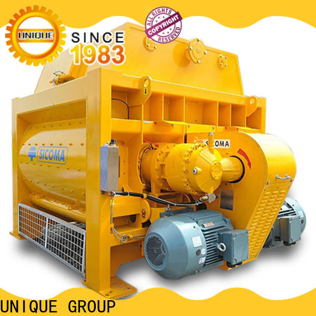 UNIQUE easy use sicoma mixer with discharging system for project