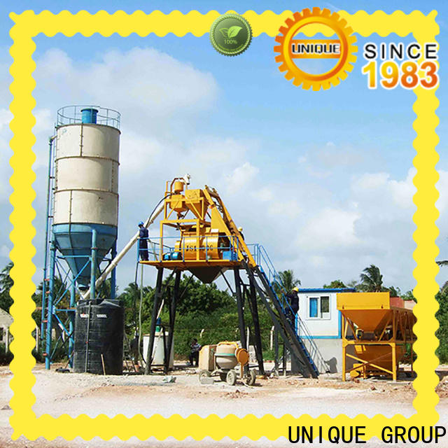 UNIQUE concrete batching plant price supplier for building