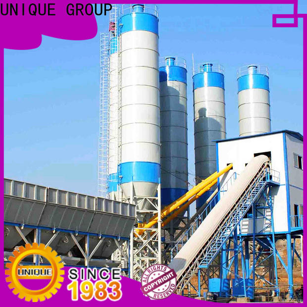 UNIQUE ready mix plant manufacturer for road