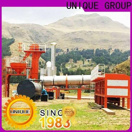 UNIQUE bitumen mix plant factory price for highway