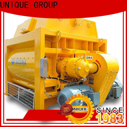 UNIQUE concrete mixer price with feeding system