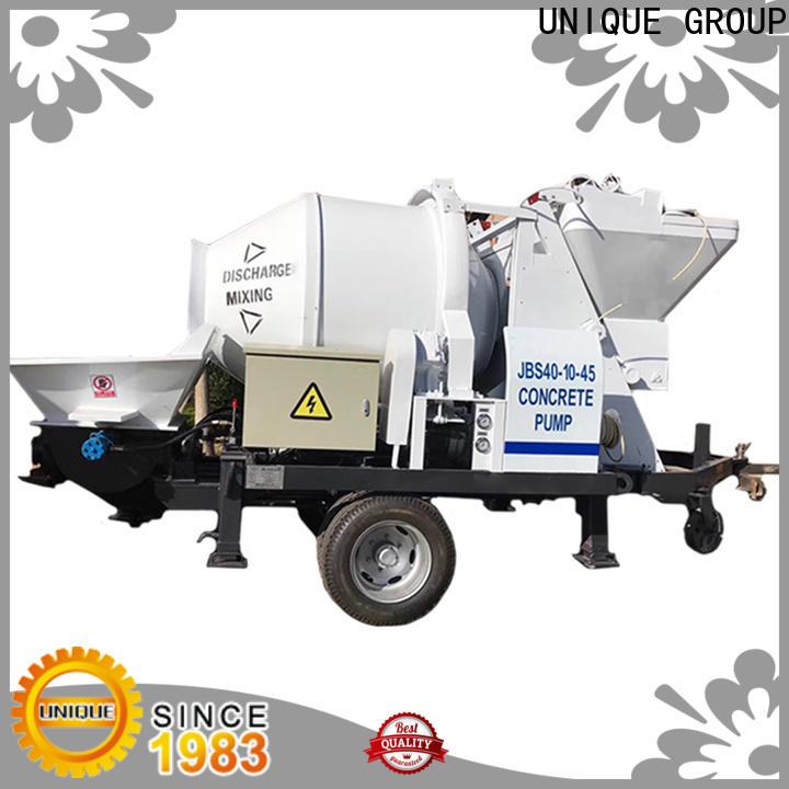 UNIQUE mature concrete mixer pump directly sale for railway tunnels