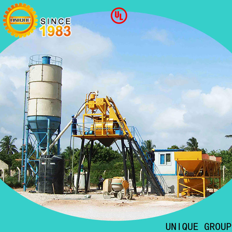 UNIQUE commercial concrete batching plant price supplier for building