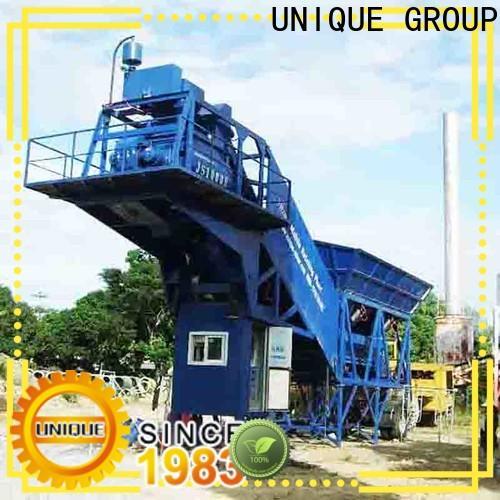 UNIQUE batch mix plant supplier for road