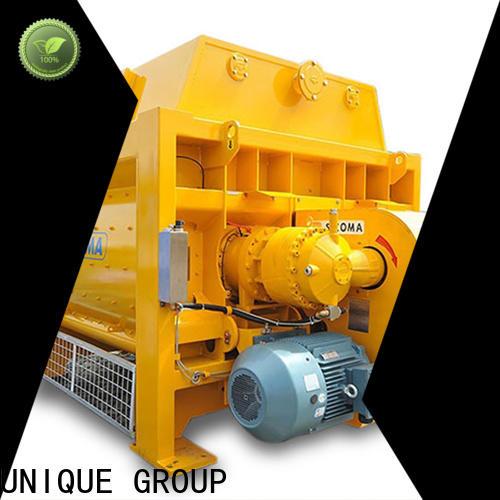 UNIQUE concrete mixer machine supplier for hard-dry concrete