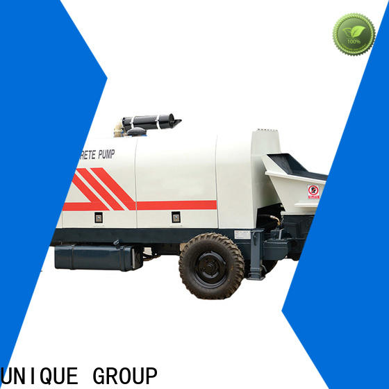 UNIQUE concrete pumping equipment supplier for railway tunnels